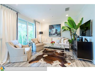 Fort Lauderdale Condo/Townhouse For Sale: 1364 Bayview Dr #1364