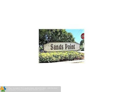 Broward County , Palm Beach County Condo/Townhouse For Sale: 8310 Sands Point Blvd #L104