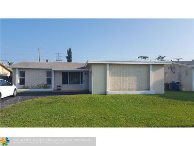 Sunrise Single Family Home Backup Contract-Call LA: 11601 NW 29th Pl