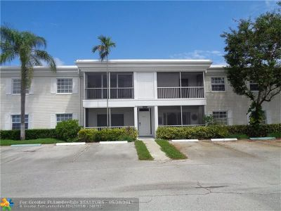 Fort Lauderdale Condo/Townhouse For Sale: 6235 Bay Club Dr #3