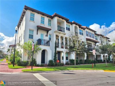 Miramar Condo/Townhouse For Sale: 11955 SW 26th Ct #3701