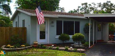 Broward County Single Family Home For Sale: 1280 NE 38th Street