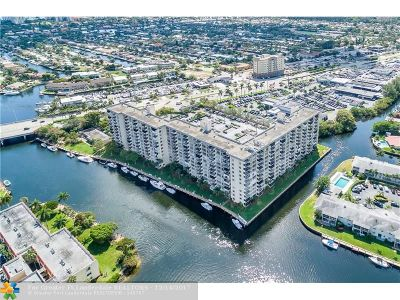 Pompano Beach Condo/Townhouse For Sale: 801 S Federal Hwy #507