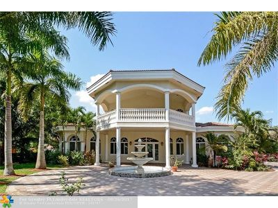 Davie Single Family Home For Sale: 14875 SW 27th St