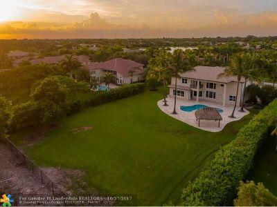 Davie Single Family Home For Sale: 10908 Garden Ridge Ct