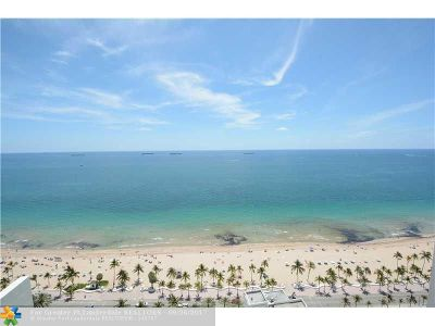 Fort Lauderdale Rental For Rent: 101 S Ft Laud Bch Blvd #2803
