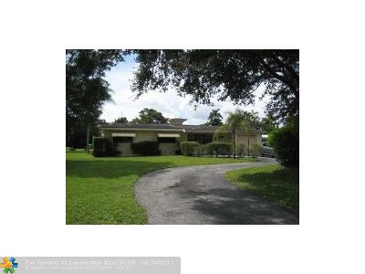 Plantation Single Family Home Backup Contract-Call LA: 417 Farmington Dr