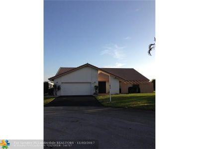 Tamarac Single Family Home For Sale: 8424 NW 80 Ct