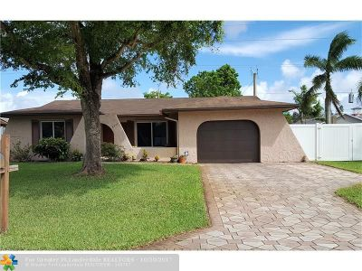 Fort Lauderdale Single Family Home Backup Contract-Call LA: 6540 NW 31st Way