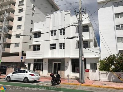 Miami Beach Condo/Townhouse For Sale: 335 Ocean Dr #215