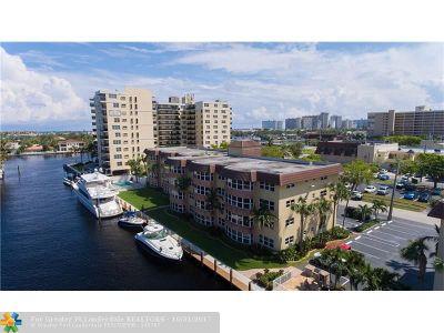 Fort Lauderdale Condo/Townhouse For Sale: 3121 NE 51st St #102