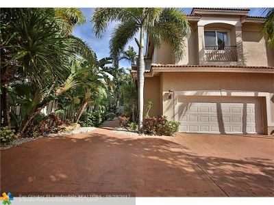 Lauderdale By The Sea Condo/Townhouse For Sale: 4632 Sea Grape Dr #B