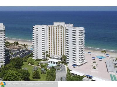 Lauderdale By The Sea Condo/Townhouse For Sale: 3900 N Ocean Dr #5D