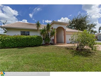Coral Springs Single Family Home For Sale: 2605 NW 124th Ave