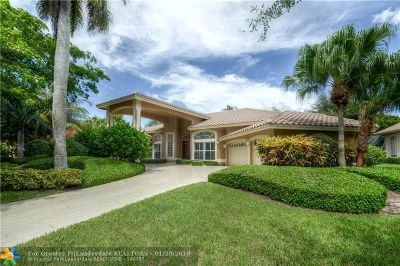 Coral Springs Single Family Home For Sale: 12177 NW 9th Dr