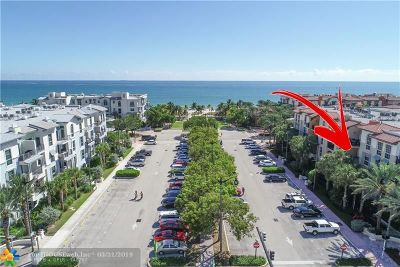 Lauderdale By The Sea Condo/Townhouse For Sale: 4445 El Mar Dr #2306