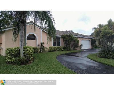 Davie Single Family Home For Sale: 15821 Sedgewyck Cir N