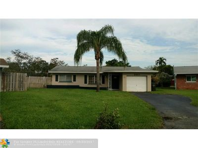 Broward County Single Family Home For Sale: 3997 NW 19th Ave