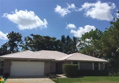 Coral Springs Single Family Home For Sale: 7212 NW 44th St