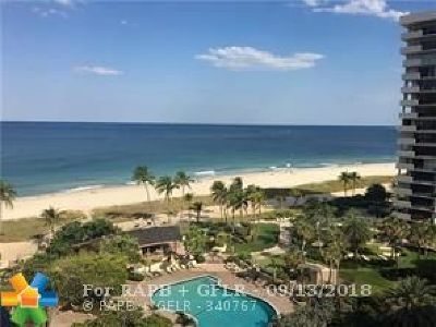 Lauderdale By The Sea Condo/Townhouse For Sale: 5100 N Ocean Blvd #1115