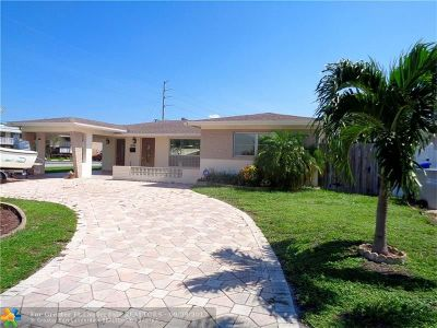 Pompano Beach Single Family Home For Sale: 1500 SW 3rd Ave
