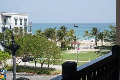 Lauderdale By The Sea Condo/Townhouse For Sale: 4445 El Mar Dr #PH2407