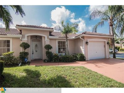 Coconut Creek Single Family Home For Sale: 6004 NW 45th Way