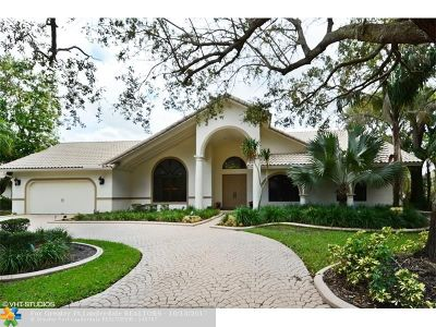 Coral Springs Single Family Home For Sale: 1724 Vestal Dr