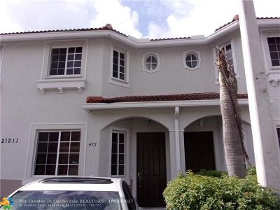 Miami Gardens Condo/Townhouse For Sale: 21211 NW 14th Pl #4-27