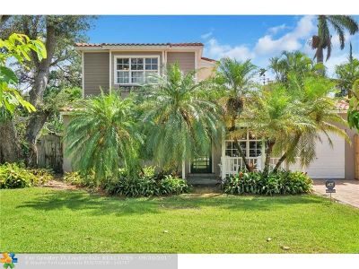 Fort Lauderdale Single Family Home For Sale: 612 SW 14th St