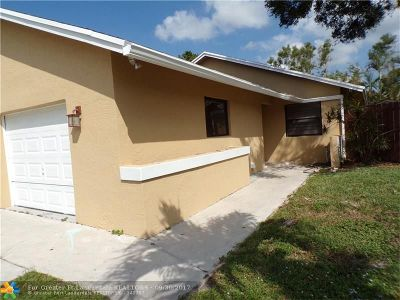 Cooper City Single Family Home For Sale: 5501 SW 98th Way