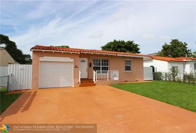 Coral Gables Single Family Home For Sale: 4421 SW 2nd Steet