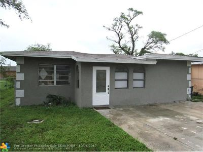 West Park Single Family Home Backup Contract-Call LA: 5408 SW 20th St