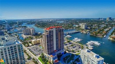 Fort Lauderdale Condo/Townhouse For Sale: 100 S Birch Rd #2903