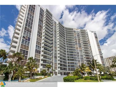 Fort Lauderdale Condo/Townhouse Backup Contract-Call LA: 2841 N Ocean Blvd #504