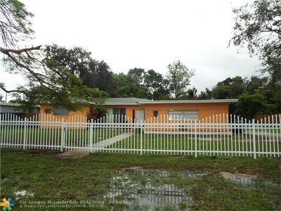 Miami Single Family Home For Sale: 14435 NW 16th Dr