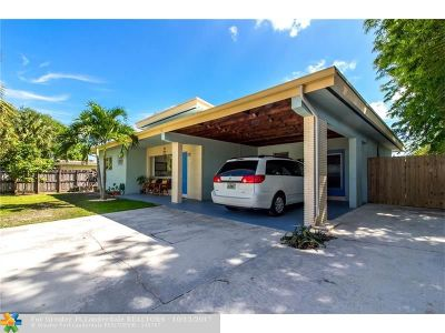 Fort Lauderdale Single Family Home For Sale: 3120 SW 14th St