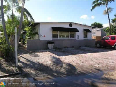 Fort Lauderdale Multi Family Home For Sale: 1408 NE 5th Ct