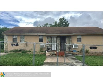 Miami Multi Family Home For Sale: 2750 NW 60th St