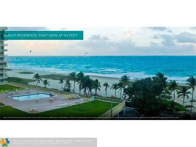 Pompano Beach Condo/Townhouse For Sale: 730 N Ocean Blvd #1701