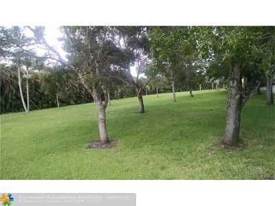 Hollywood Residential Lots & Land For Sale: 3801 NW 97th Ave