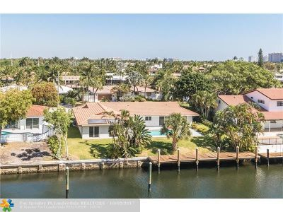 Coral Ridge, Coral Ridge 21-50 B, Coral Ridge Add, Coral Ridge Country Club Single Family Home For Sale: 2824 NE 35th St
