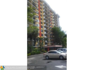 Condo/Townhouse For Sale: 1800 N Andrews Avenue #3k
