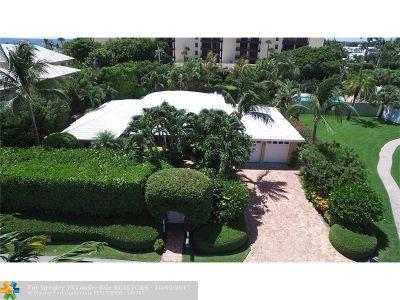 Delray Beach Single Family Home For Sale: 1126 Miramar Dr