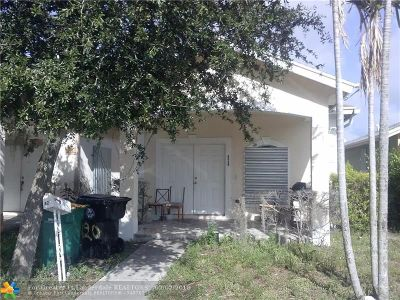 Lake Worth Single Family Home For Sale: 420 N D St