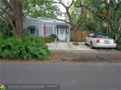 Dania Single Family Home For Sale: 35 SW 5th St