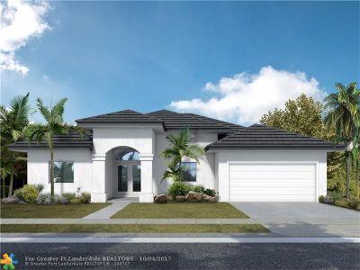 Boynton Beach Single Family Home For Sale: 1016 SW 27 Ave