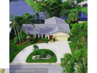 Coral Springs Single Family Home For Sale: 11346 NW 12th Ct