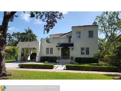 Coral Gables Single Family Home For Sale: 1544 Plasentia Ave