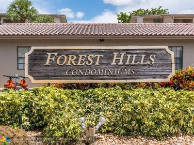 Coral Springs Condo/Townhouse For Sale: 3361 NW 85th Ave #302